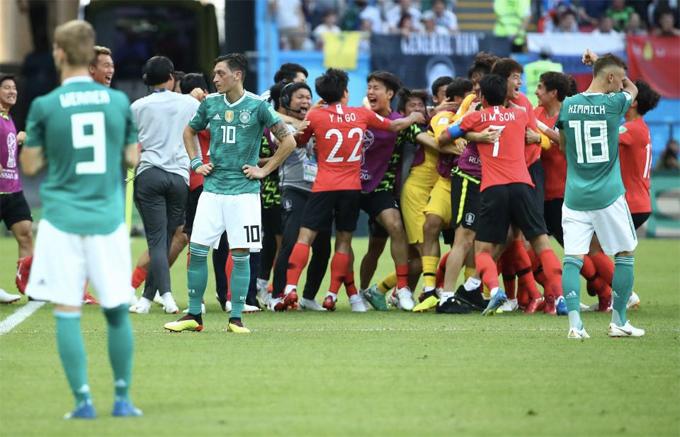 Hàn Quốc đã bị loại, nhưng họ đã có một chiến thắng xứng đáng.