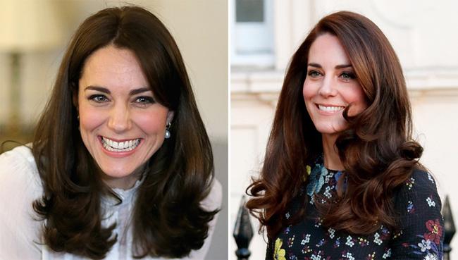 Meghan uốn tóc xoăn giống hệt Kate khi tham dự sự kiện cùng Harry - 1