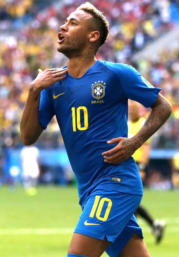 Neymar là niềm hy vọng lớn nhất của Brazil tại giải năm nay. Ảnh: NN.