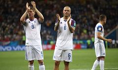 Thất bại trước Croatia, Iceland dừng cuộc phiêu lưu ở World Cup 2018