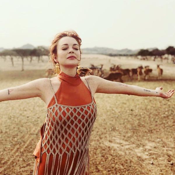 Lindsay cảm thấy tự do, thoải mái và an toàn khi ở Dubai.