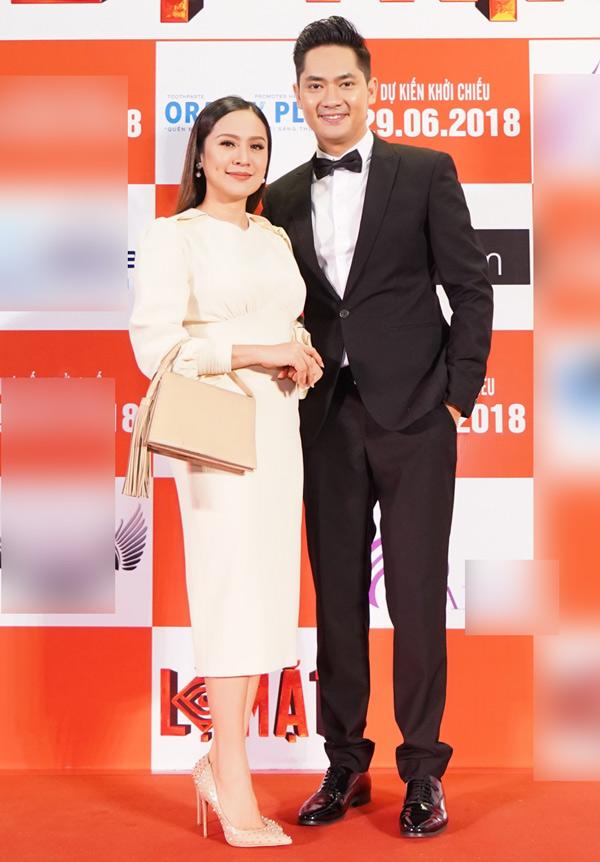 Thanh Thúy ủng hộ Minh Luân thử sức góp vốn làm phim.