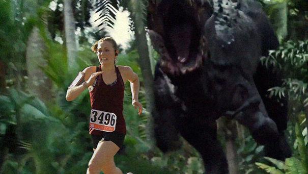Chạy trốn T-rex.