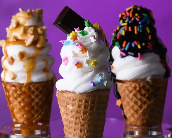 Làm nhanh 4 món kem giải nhiệt mùa hè