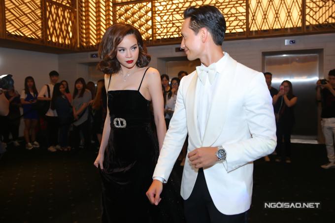 Tại các sự kiện, Kim Lý và Hồ Ngọc Hà đều xây dựng hình ảnh cặp đôi sành điệu và thời thượng.