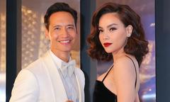 Kim Lý đưa Hồ Ngọc Hà đi dự lễ trao giải thời trang