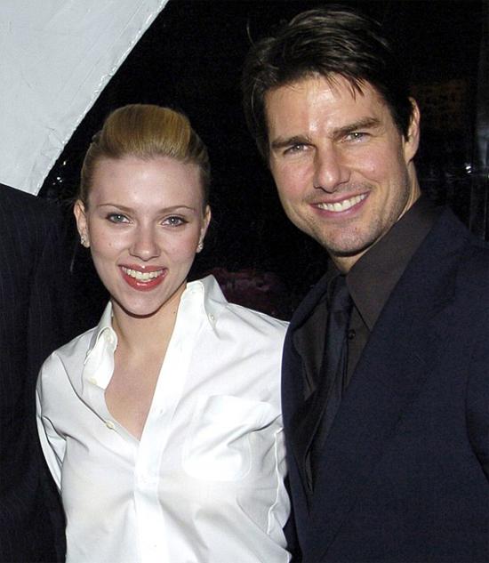 Scarlett phủ nhận từng ứng tuyển làm vợ Tom Cruise.