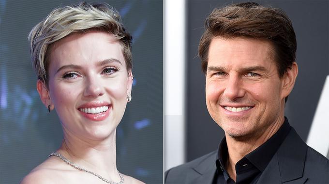 Scarlett Johansson và Tom Cruise.