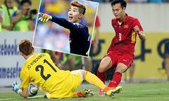 Thủ môn hot boy của tuyển Hàn Quốc từng bị Văn Toàn đánh bại