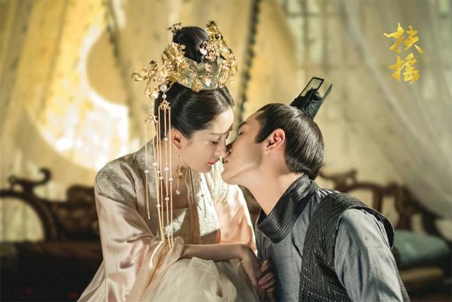 Dương Mịch - Kinh Thiên trong Phù Dao Hoàng hậu.