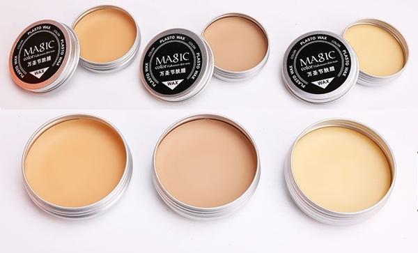 Sản phẩm sáp đắp mặt có nhiều tone màu, hợp với nhiều sắc tố da.