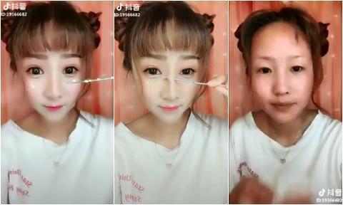 Tuyệt chiêu nâng mũi, độn cằm không cần dao kéo của các hot girl Trung Quốc