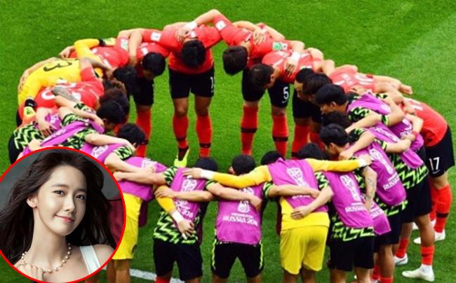 Yoona ăn mừng chiến thắng với đội bóng nước nhà bằng một bức ảnh nhiều cảm xúc.Cô viết: Các bạnthực sự đã làm hết mình.