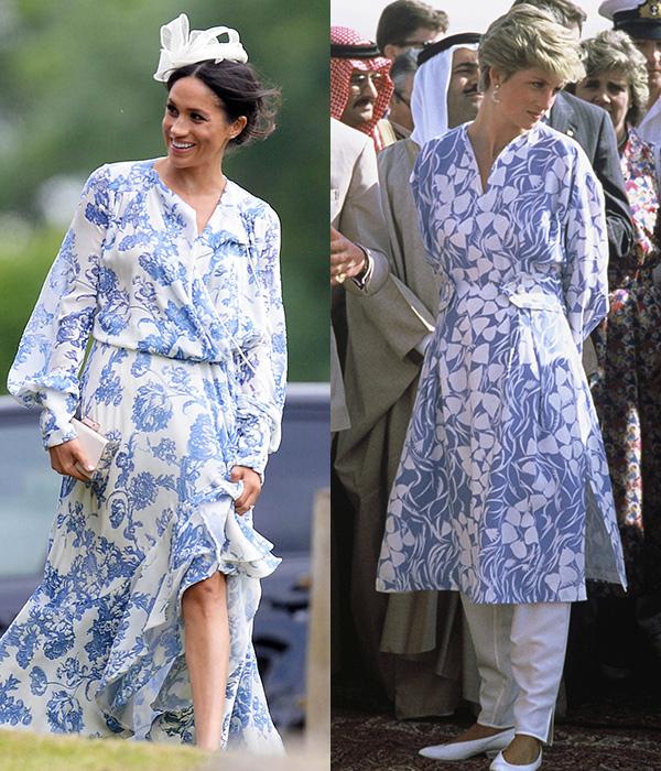 7 lần Meghan diện đồ theo phong cách của Công nương Diana - 5