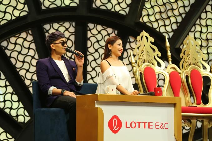 Khương Ngọc gay gắt với tình cũ Khả Như trên sân khấu - 2