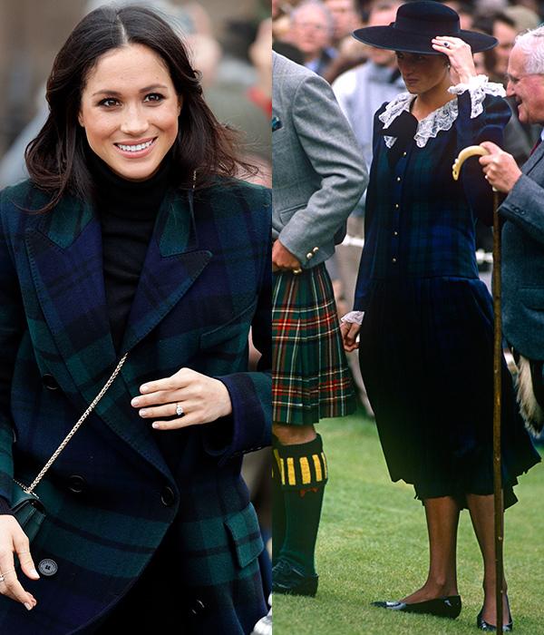 7 lần Meghan diện đồ theo phong cách của Công nương Diana - 4