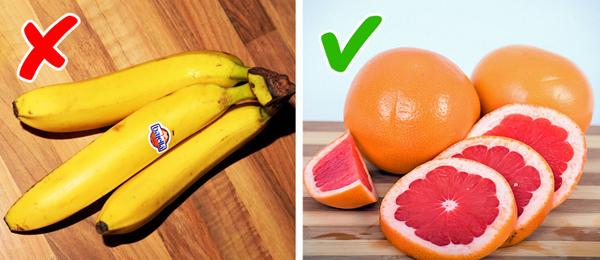 Lựa chọn hoa quả chứa ít calories