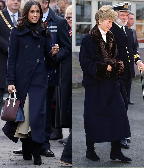 7 lần Meghan diện đồ theo phong cách của Công nương Diana - 3