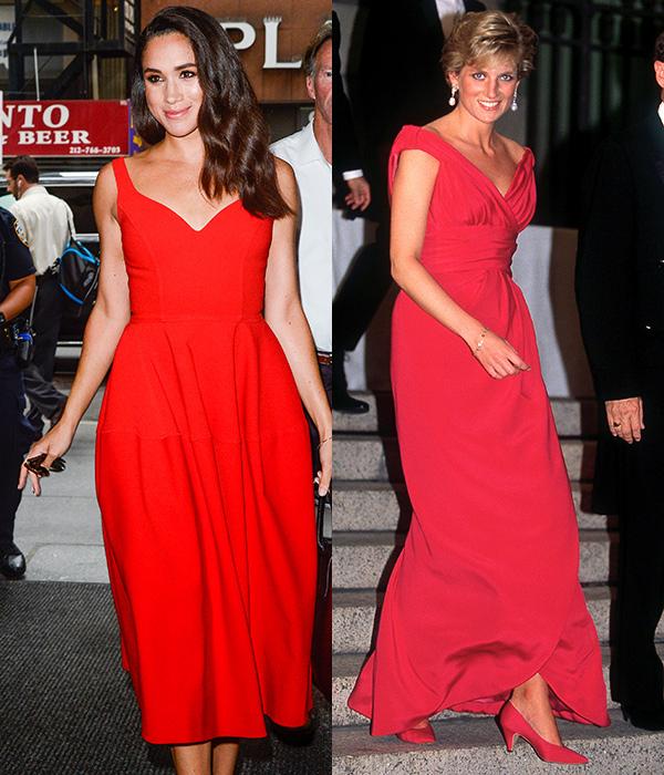 7 lần Meghan diện đồ theo phong cách của Công nương Diana - 2