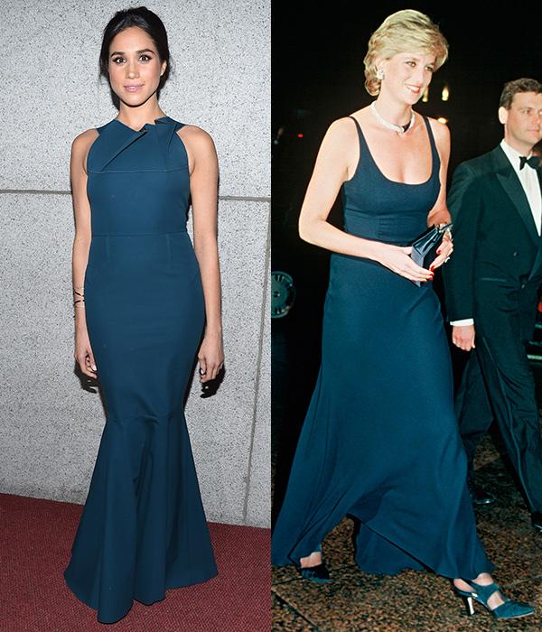 7 lần Meghan diện đồ theo phong cách của Công nương Diana - 1