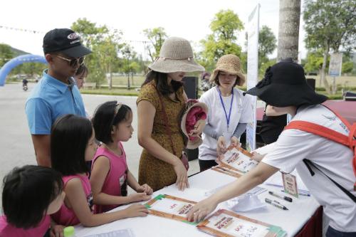 diễn ra tại Khu sinh thái Mường Thanh Diễn Lâm vào ngày 23-24/6 vừa qua đã thu hút đông đảo sự quan tâm và tham gia của các gia đình.