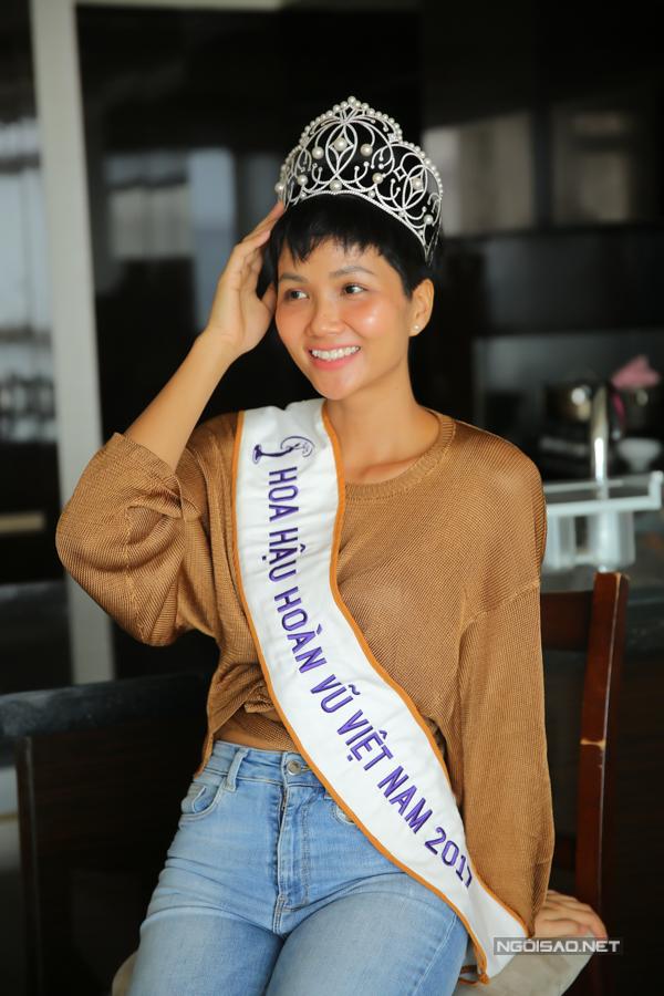 HHen Niê sống giản dị trong căn hộ giải thưởng Hoa hậu - 3