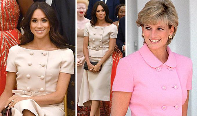 7 lần Meghan diện đồ theo phong cách của Công nương Diana - 6