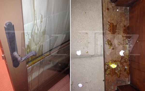 Justin từng ném khoảng 20 quả trứng vào nhà hàng xóm.