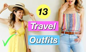 13 set đồ đa phong cách cho kỳ nghỉ