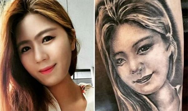 Cho Hyun-woo còn xăm hình gương mặt của vợ lên cánh tay phải. Tôi rất yêu vợ tôi. Chính vì thế tôi muốn khắc ghi hình ảnh của cô ấy lên cơ thể mình. Mỗi khi ra sân thi đấu, tôi cảm thấy như vợ đang ở bên cạnh mình, thủ môn tuyển Hàn Quốc chia sẻ.