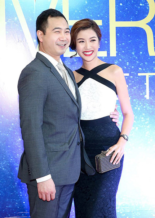 John Tuấn Nguyễnvà Thuý Vân ngày còn yêu nhau.