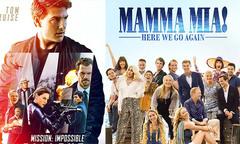 'Nhiệm vụ bất khả thi', 'Mamma Mia' ra rạp tháng 7 bất kể World Cup