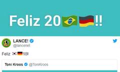 Báo chí Brazil 'troll' Toni Kroos sau khi Đức thua thảm