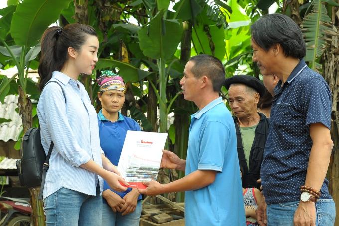 Suốt hai năm nhiệm kỳ, Mỹ Linh luôn gắn bó với các hoạt động từ thiện, cộng đồng.
