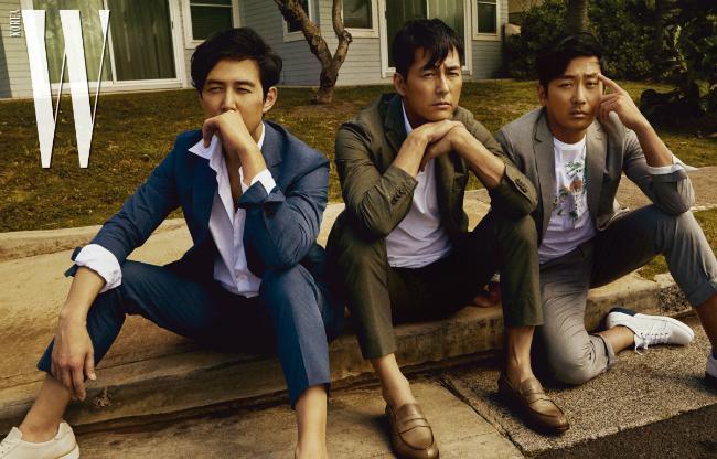 Ba quý ông độc thân hot nhất xứ Hàn.