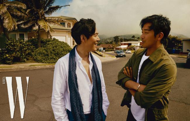 Lee Jung Jae, Ha Jung Woo và câu chuyện của những người đàn ông.