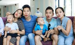 Đại gia đình Quốc Cơ - Quốc Nghiệp đi nghỉ hè ở Nha Trang