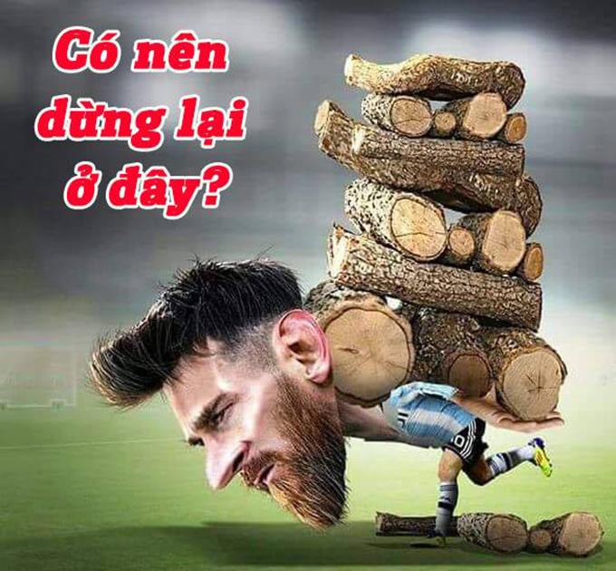 Một mình Messi không thể gánh được cả đội đang có phong độ đi xuống. Liệu đây có phải là mùa WC cuối cùng của Messi?