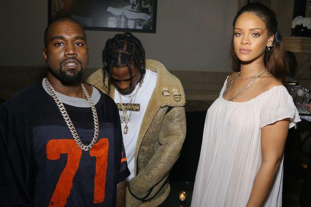 Thực tế, Kanye West và Rihanna là bạn bè thân thiết từ lâu. Kanye còn gọi Riri là cô em gái bé nhỏ. Hai ngôi sao từng hợp tác trong nhiều ca khúc, bao gồm Four Five Seconds.