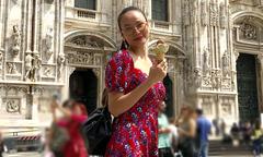 Dương Yến Ngọc du ngoạn ở châu Âu