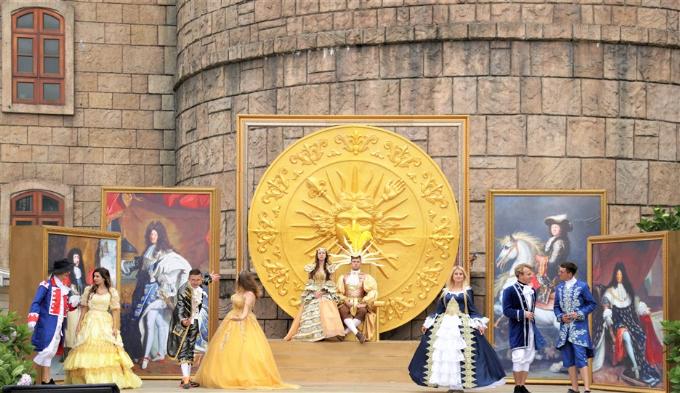Yến tiệc vua Mặt trời trên đỉnh Bà Nà - 1