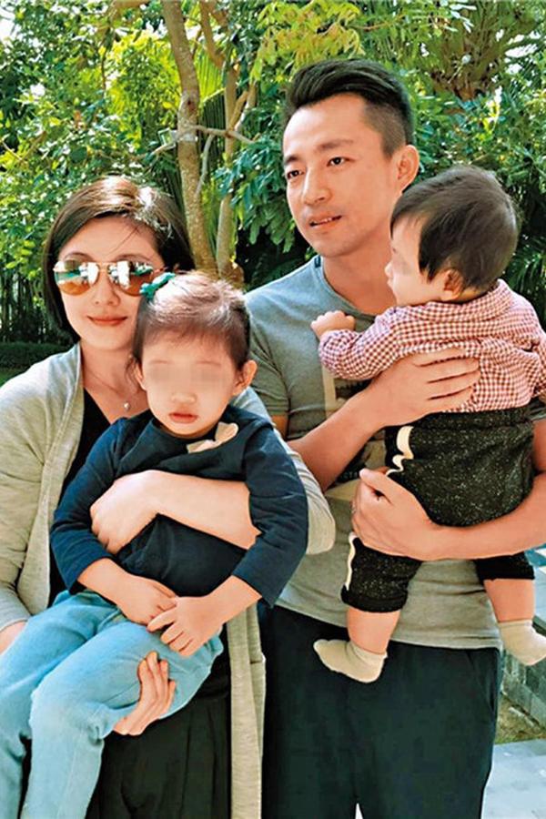 Vợ chồng Từ Hy Viên đi nghỉ dưỡng cùng hai bảo bối.
