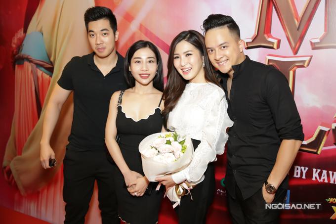 Cao Thái Sơn dự buổi ra mắt MV của Hương Tràm hôm 29/6.