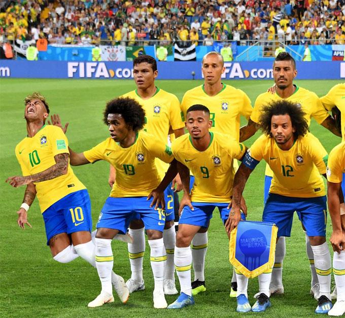 Neymar bị chế ảnh là thánh ăn vạ - 9