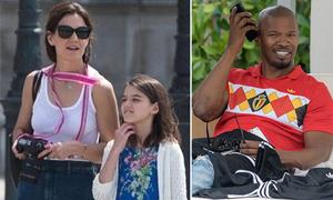 Katie Holmes đưa con gái du lịch Paris giữa tin đồn chia tay bạn trai