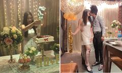 Chàng trai tặng bạn gái bánh gato chứa đầy tiền nhân 2 năm yêu nhau