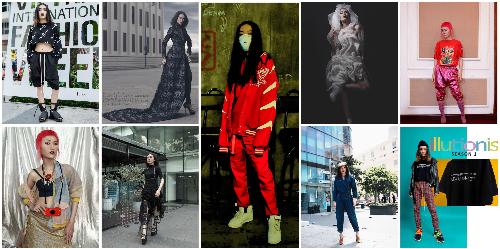 Trần Ngọc Sang làm nghề người mẫu nam giả nữ.