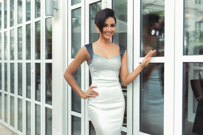 Hoa hậu Hoàn vũ Việt Nam hiện tăng cân trở lại lên mức 56 kg.