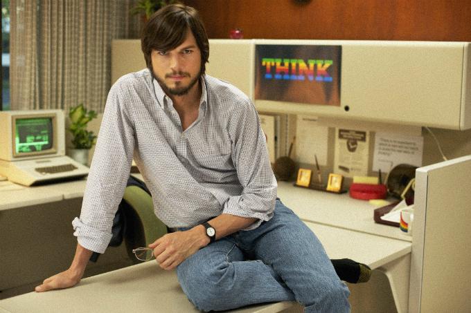 Ashton Kutcher thủvai trùm công nghệSteve Jobs trong phimJobs (2013). Ảnh:Sundance.