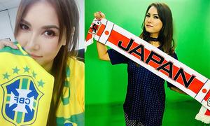 Cựu sao phim sex Maria Ozawa vỡ mộng khi Nhật Bản thua ngược tuyển Bỉ